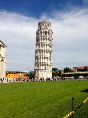 Leaning Tower of Pisa.