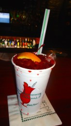 The Famous Hurricane Drink at Pat O'Brien's.