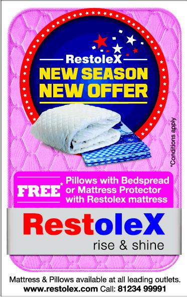 Restolex Mattress New Offer