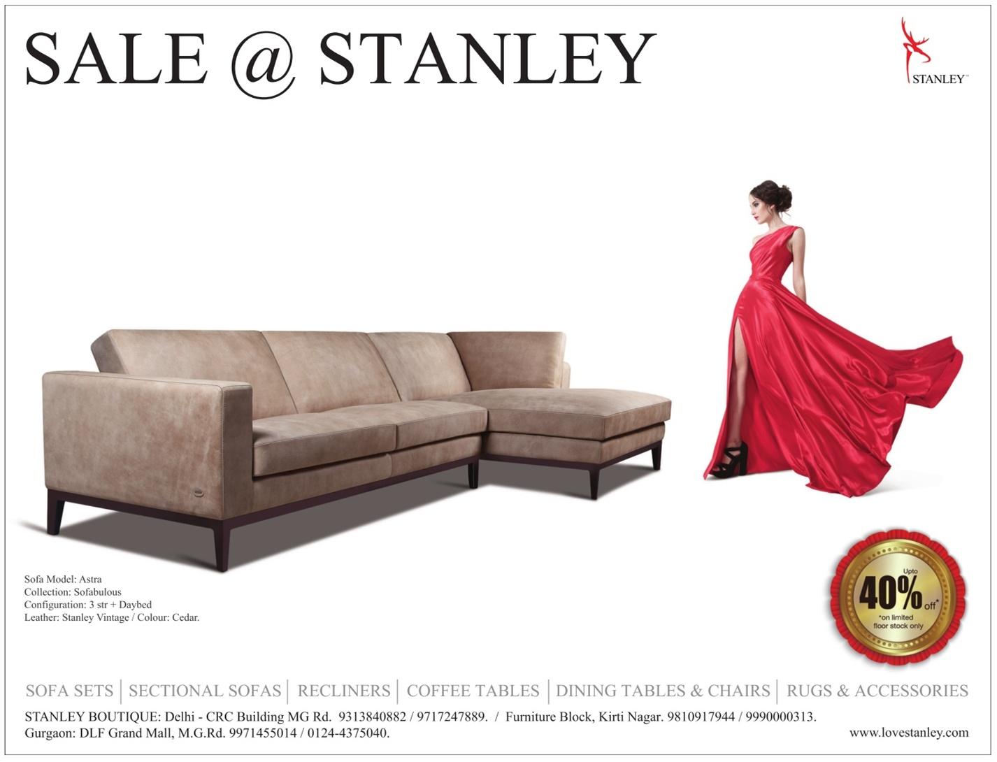 stanley sofa buy cushions sofas upto 40 off mumbai new delhi