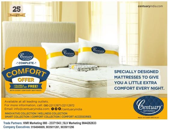 Century Mattresses Complete Comfort Offer