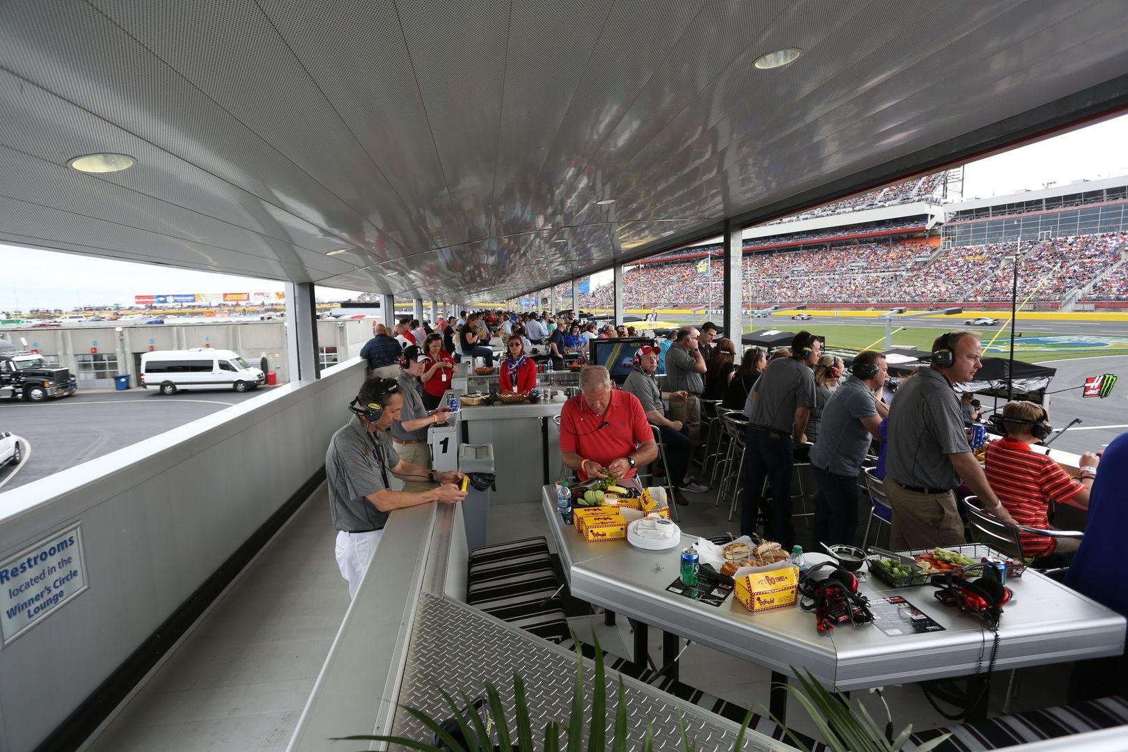 Pit Road Suites  Entertainment  Charlotte Motor Speedway