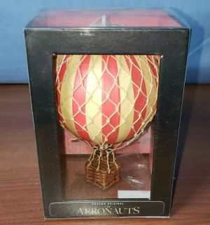 AERONAUTS Amazon MOVIE Promo Floating The Skies TRUE RED Hot Air Balloon Model