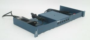 Broadcast Tools SS-4.1 Plus Switch / Router + RA1 Rack Mount Kit