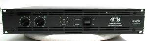Dynacord LX2200 2-Ch Power Amplifier 1100W/CH @ 4-OHMS #4938