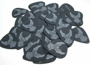 Jim Dunlop HD-P003R .60 B-TRTX Black Eagle Guitar Picks 36 Pack