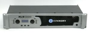 Rack Mount Crown XLS 1000 2-Ch High Density Power Amplifier 350W/CH @ 4-ohm