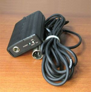 Shure MX1BP Microflex Microphone Mic PreAmplifier PreAmp