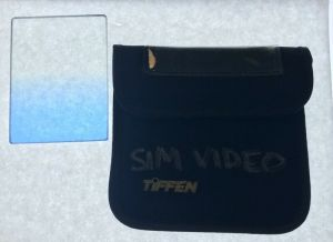 TIFFEN 3×4 BLUE GRAD 2 GLASS RECTANGLE CAMERA FILTER