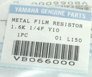 Yamaha 03D O3D Digital Mixer VB066000 Replacement Part Metal Film Resistor x10