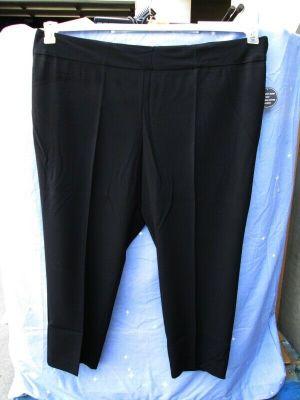 Avenue Plus Size Tummy Control Legging Stretchy Band Petite Black Size 24 Petite