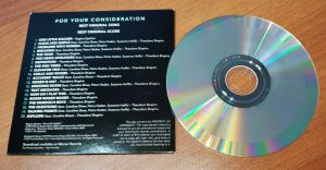 BOMBSHELL Best Original Song Score SOUNDTRACK CD For Your Consideration FYC