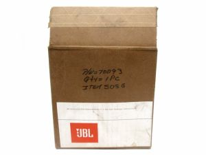 Genuine JBL 505G Midrange Transducer Speaker NOS New Old Stock 8330 3800 4800