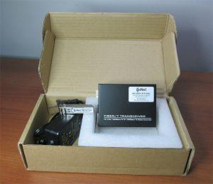eNet MCGEBT-SFP-ENC 10/100/1000M Fiber Media Ethernet Converter SFP-SX-MM-ENC