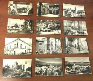 Lot 23 Vtg Convento San Angel Cuernavaca San Isidro Mexico Black White Postcards