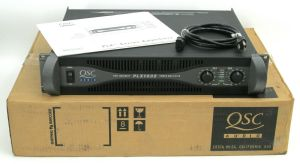 Rackmount QSC PLX-1602 Pro Power Amplifier 300W/CH @ 8 OHMS + Box & Manual #1719