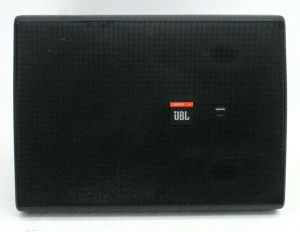 Single JBL Control 28 High Output Indoor Outdoor Background Foreground Speaker