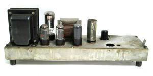 Vintage Tube Amp w/ 6V6 NU JU 5U4 Vacuum Tubes RCA Sylvania