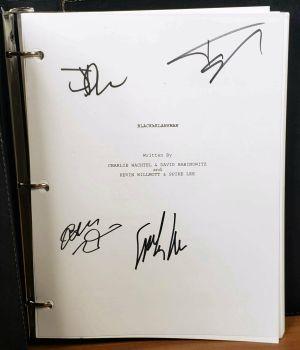 BLACKKKLANSMAN FYC PROMO Leather Bound SCREENPLAY Script SIGNED Black Klansman +