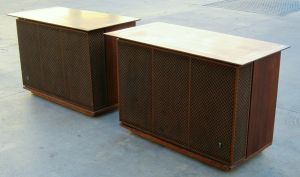 "PAIR of Vintage JBL C50 OLYMPUS Speakers LE15A 15"" Woofers 375 Drivers H93 Horns"