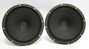 "Pair of Jensen M81 C7704 8"" inch Midrange Speakers Woofer 8 OHM"