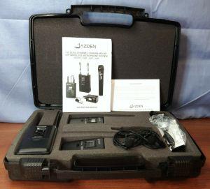 Azden 330-ULT UHF Dual-Channel Camera Wireless Mic System 35BT 330UPR EX-503L #2