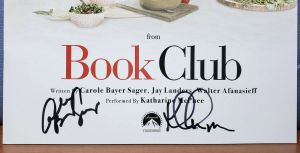 BOOK CLUB Music Sheet FYC Promo BEST ORIGINAL SONG Signed KATHERINE McPHEE +
