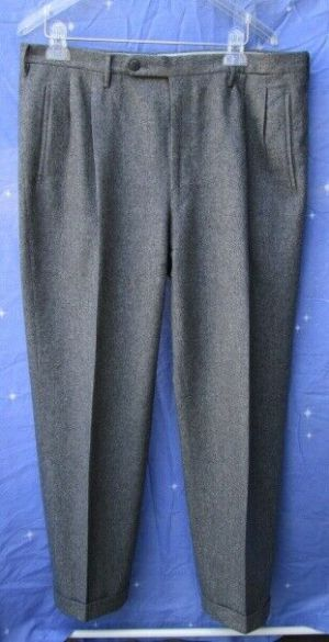 Carroll & Co. Suit Pants Slacks Trousers Dress Pants Grey Wool Fully Lined