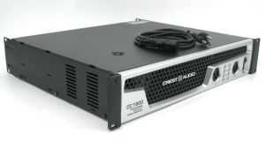Crest Audio CC1800 CC 1800 Watt 2 Channel Pro Power Amplifier Amp