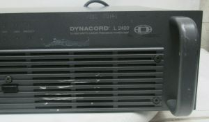 DYNACORD L2400 POWER AMPLIFIER 1200 WPC @ 4 ohm