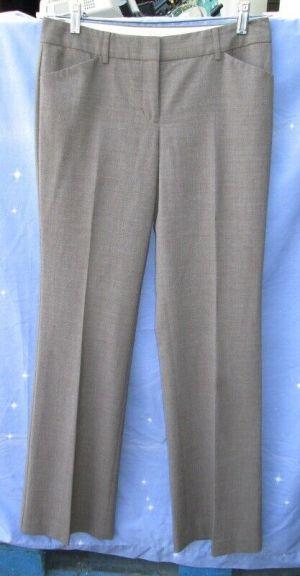 Express Design Studio Editor Woman's Trousers Dress Pants Khaki Brown Size 4L