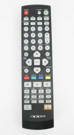 Genuine OPPO Remote Control Backlit replacement BDP-80/83/83SE/83R/93/95/103/105