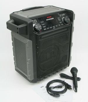 ION Audio Pathfinder Portable Bluetooth Speaker with AM/FM Radio & Mic IPA79A