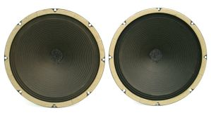 """PAIR of ROLA A513-024925 12"""" Woofer 8-Ohm Instrument Organ Alnico Speakers"""