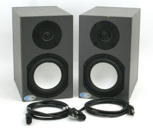 Pair of Blue Sky SAT 5 60W + 60W Bi-amplified Active Monitor Speakers #1633