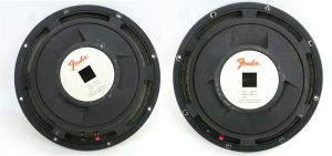 Pair of Vintage Rare JBL Fender 092577H 092577-H Speaker 8-OHM