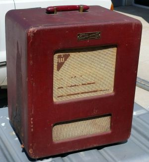 Vintage 1952 Webster-Chicago RMA 375 Model 166-1 Guitar Amplifier
