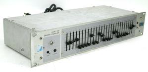 Vintage UREI 537 Pro Audio Graphic EQ Equalizer 1/3 Octave 27-Band