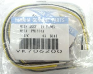 Yamaha PM-1800A Mixer Replacement Part Wire Assy In Fader M18A VK706200 LOT x10