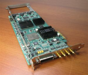 AJA Kona 3 PCI Express PCIe Video Capture Card Module SDI HD-SDI P/N 102058-03