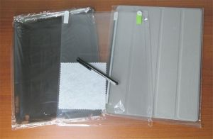Besdata PT2600 iPad 2 3 4 Magnetic Smart Cover Case Screen Protector Stylus