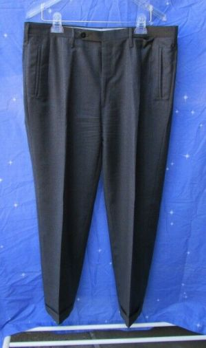 Carroll & Co. Suit Pants Slacks Trousers Dress Pants Gray Wool Fully Lined
