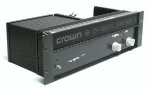 Crown D-150A Series II 2-Channel Stereo Power Amplifier 95W /CH @ 8-OHMS