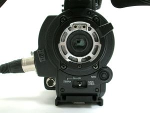 JVC GY-HD250CHU GY-HD250 CProHD HDV Camcorder w/ Viewfinder Mic 0 DRUM HOURS