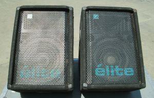 PAIR of Yorkville ELITE EX351M Wedge Monitor Stage Speaker EX 351 M