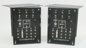 Pair of JBL 3160 Crossover Dividing Network – CONSECUTIVE SERIAL NUMBERS