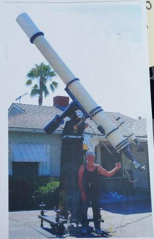 "10"" Carl Zeiss Refractor Telescope Ultra Precision Custom Made 25mm"