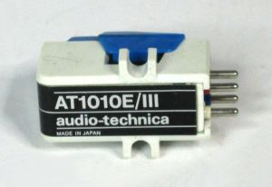 Audio Technica AT1010E III Phonograph Turntable Cartridge No Stylus