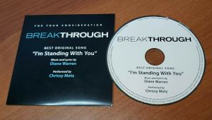BREAKTHROUGH Best Original Song FYC Promo I'M STANDING WITH YOU Chrissy Metz CD
