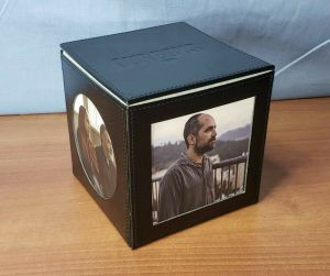 HBO Series OUR BOYS Promo Black Leather Photo Box Top Dresser Jewelry Storage